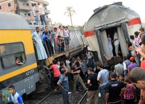 train cairo crash