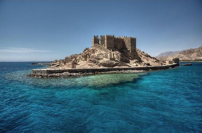крепость крестоносцев таба